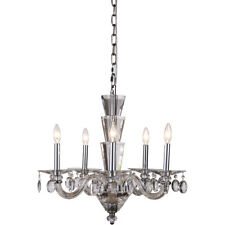 CRYSTAL CHANDELIER FOYER DINING LIVING ROOM KITCHEN BEDROOM 5 LIGHT CHANDELIERS