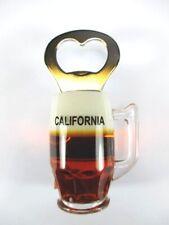 Kalifornien California USA Poly Souvenir Flaschenöffner Magnet,Amerika (169)