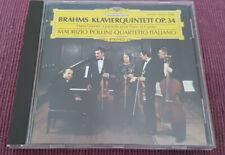 Maurizio Pollini / Quartetto Italiano -  Brahms - Piano Quintet, Op.34 - DG