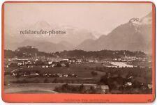 Salzburg von Maria-Plain. Würthle & Spinnhirn. Orig.-Kabinett-Photo um 1890