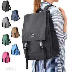 Japan Anello Women Student Polyester Backpack Cover Bag Rucksack Lady Travel Bag