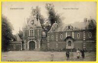cpa Rare 62 - HAVRINCOURT (Pas de Calais) Place de l'HORLOGE Château