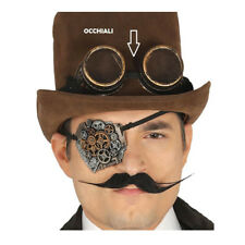 Occhiali steampunk per travestimento stile gotico vittoriano carnevale