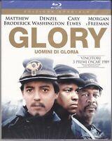 Blu-ray GLORY ~ UOMINI DI GLORIA Denzel Washington Morgan Freeman nuovo 1989