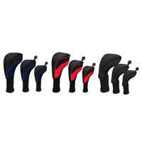3x Breathable Golf Wood Head Cover Fairway Driver Headcover Golfer Gift