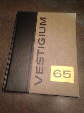 1965 Elgin Community College Vestigium Yearbook Annual Illinois IL