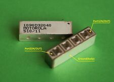 Motorola 1090MHz Bandpass Filter BPF 4pole 45db