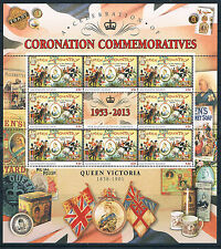 Ascension 2013 Anniv.of Coronation SHEETS SG 1162/6 MNH