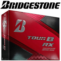 BRIDGESTONE 2018 TOUR B RX WHITE GOLF BALLS / 3 BALL PACK