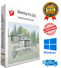 SketchUp Pro 2020 🔥 Lifetime ✅ Full version ✅ Multilingual ✅ Fast Delivery