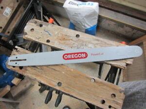"Oregon 24"" guide bar chain saw"