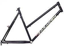 Fahrradrahmen in Schwarz