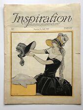 April 1923 Inspiration Magazine Woman's Institute Millinery Fashion