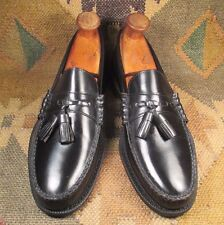 Whip Moc Black Tassel Leather Loafer  size 9.5 N made in USA