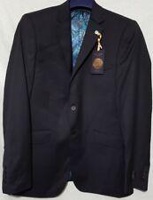 Ted Baker Chunkj Semi Plain Tailored Suit Jacket Black RRP £230 BNWT 46R