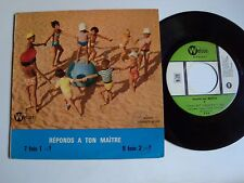"""THIERRY FRANCONVILLE : Ecoute ton maitre (mus GEORGES ALLOO) 7"""" EP WELSON R 06"""