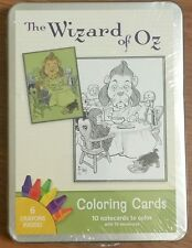 The Wizard of Oz Coloring Cards by WW Denslow