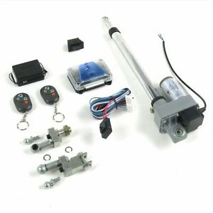 Bolt In Power Tonneau Cover Opener with Remote and One Touch Operation AutoLoc