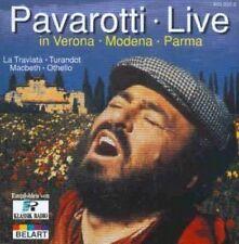Luciano Pavarotti Live in Verona, Modena, Parma (13 tracks, 1986) [CD]