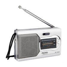 Argento 2 Band Radio FM/AM per Notizie, Meteo, Eventi Sportivi in Diretta