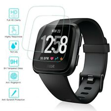 Genuine TEMPERED GLASS Screen Protector For Fitbit Versa Smart Watch