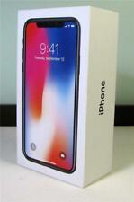 iPHONE X Empty  BOX + Booklet / Space Gray [No Phone]   SirH70