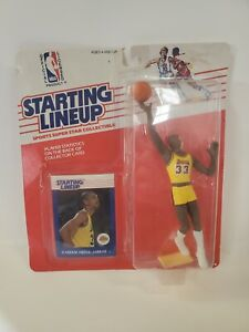 1988 Kareem Abdul Jabbar Kenner Starting Lineup Figure NEW