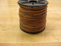 25 Yard Spool Round Leather Lace 1mm