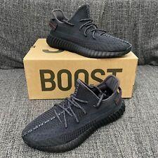 Adidas YEEZY BOOST 350 V2 Black Static Non-Reflective EU43 1/3 US9.5 UK9