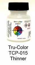 Tru-Color TCP-015 Thinner 1 oz Paint Bottle