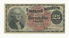 US 1863 25c FRACTIONAL CURRENCY  - High Grade Note