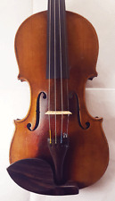 Interesting old Violin Labelled Scarampella 4/4 - Vintage / Antique - More Pics