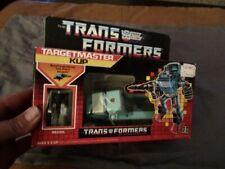 1986 Transformers Sealed Targetmaster Kup MIB Box Misb