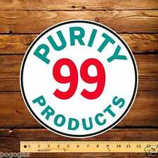 """Purity 99 Products - 12"""" Gas Pump Decal"""