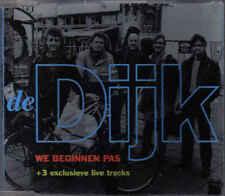 De Dijk-We Beginnen Pas cd maxi single