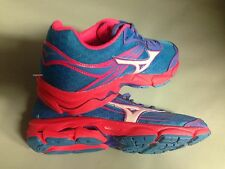 Mizuno Wave Catalyst Running Sneakers Shoe Womens 8 Blue Pink Trainers New Gym