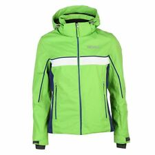 Nevica Kiara Ski Jacket Coat Detachable Hood Green Purple Size 8 UK  £129.99