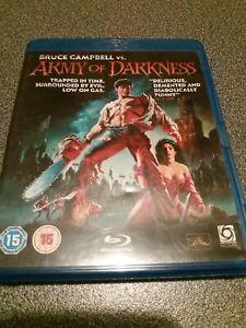Bruce Campbell Vs. Army Of Darkness Blu Ray Region B Horror 1993 Sam Raimi