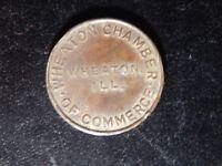 WHEATON CHAMBER OF COMMERCE TOKEN!   ZZ937XUX