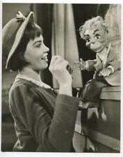 Leslie Caron Lili Portrait 1952 Original DBLWT Photo French Actress J5255