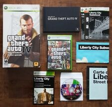 XBOX 360 Grand Theft Auto IV + Episodes From Liberty City + Maps + EXTRAS
