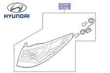 Genuine Hyundai iX35 Luz Exterior Trasera Rh controladores secundarios - 924022Y500