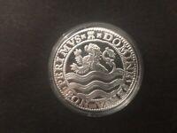 2018 Netherlands 1 oz Silver Lion Dollar Restrike Bullion Coin Dutch Mint