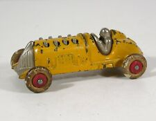 1920s CAST IRON PISTON RACER / RACE CAR  #6 TOY 2137 By HUBLEY ORIGINAL PAINT