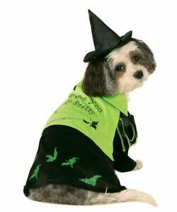 Wicked Witch Of West XLarge Rubies Pet Shop Dog Costume XL Wizard OZ