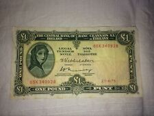 1975 Central Bank of Ireland 1 Pound Note - Phunt