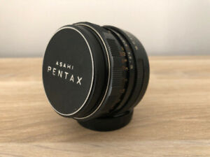 Pentax Pentacon auto 50mm f1.8 Fixed Prime Standard Lens M42 Screw Mount.