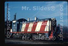 Original Slide MTR Montour Bicentennial Paint SW9 76 In 1977