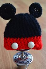 gehaakte mickey muts voor mercedes ster mickey mouse, mini mouse, disney