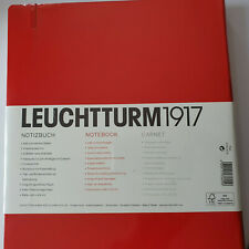 LEUCHTTURM 1917 Nr 336404 NOTIZBUCH MASTER Classic A4+ HARDCOVER Dotted ROT